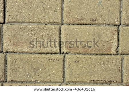 Sidewalk tile background - stock photo