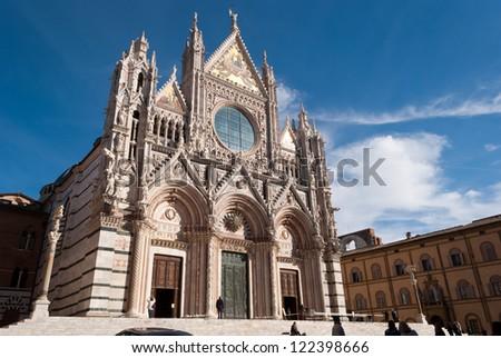 Siena Cathedral, Tuscany, Italy - stock photo