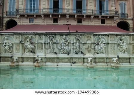 Siena, Italy - stock photo