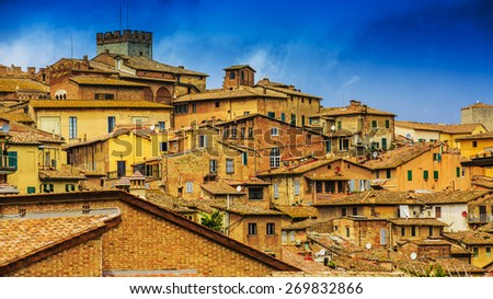 Siena, Tuscany, Italy - stock photo