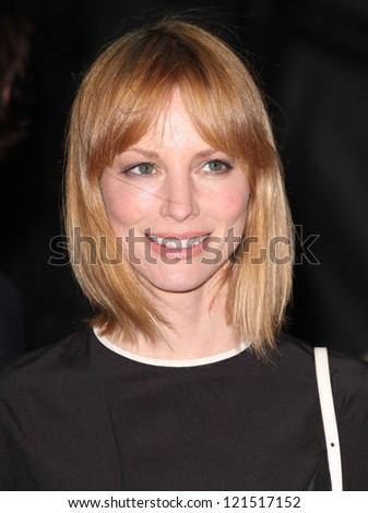 Sienna Guillory arriving for the Life Of Pi premiere, at Empire Leicester Square, London. 03/12/2012 Picture by: Alexandra Glen