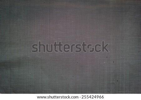 Sieve iron background - stock photo
