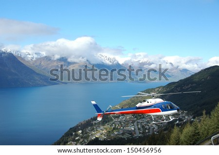 Sightseeing Helicopter in Queenstown