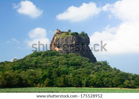 Sigiriya Rock Fortress, 5th Century's Ruined Castle That Is Unesco Listed As A World Heritage Site In Sri Lanka