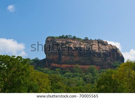 Sigiriya, Sri Lanka - stock photo