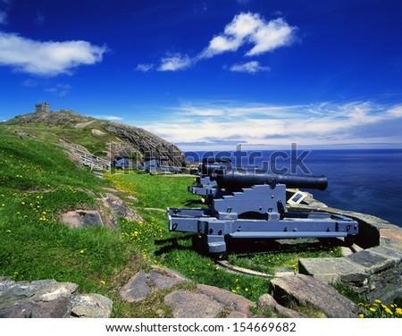 Signal Hill, Newfoundland, Canada - stock photo