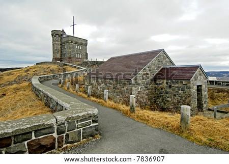 Signal Hill, St John's,  Newfoundland - stock photo