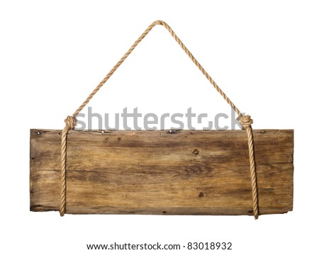 signboard - stock photo