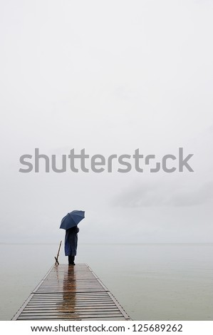 Silent Place - stock photo