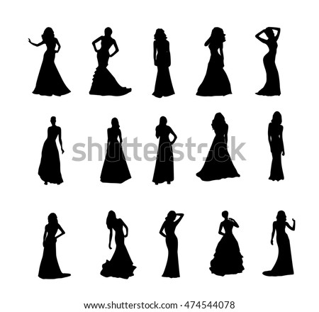 Silhouette Evening Gown