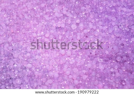 silica gel after use, background - stock photo