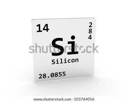 Lithium symbol li element periodic table stock illustration silicon symbol si element of the periodic table urtaz Image collections
