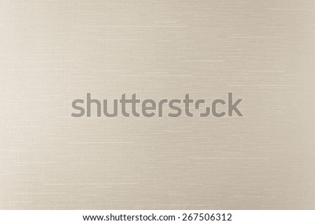Silk fabric wallpaper texture pattern background in light beige color tone  - stock photo