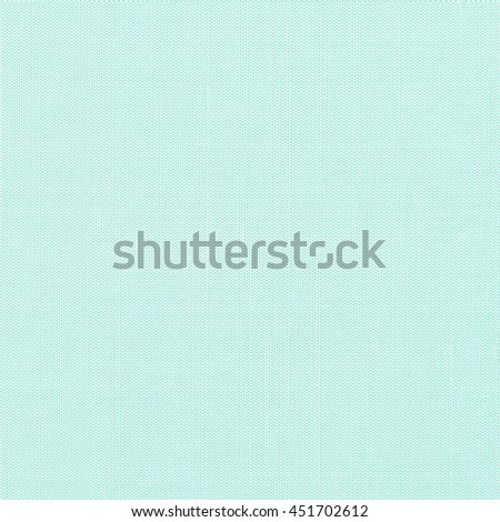 Silk fabric wallpaper texture pattern background in light pale blue mint green teal color tone: Fine natural raw Thai silk detail textured organic fiber textile backdrop in cyan aqua toned colour - stock photo