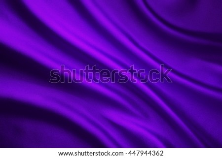 Silk Fabric Wave Background, Abstract Purple Satin Cloth Texture