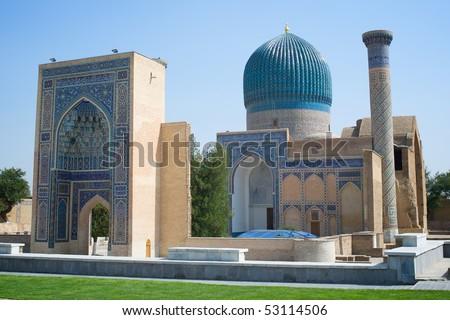Silk Road - stock photo