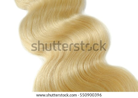 Silky body wave blonde human hair extensions bundles