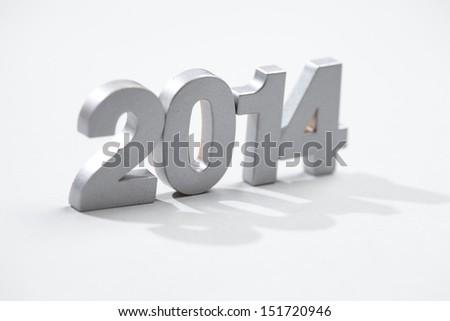 Silver 2014 - stock photo