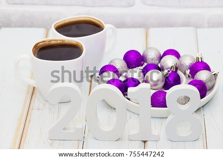 Purple Decorative Balls New Silver Purple Decorative Balls On Light Stock Photo 755447242 Inspiration
