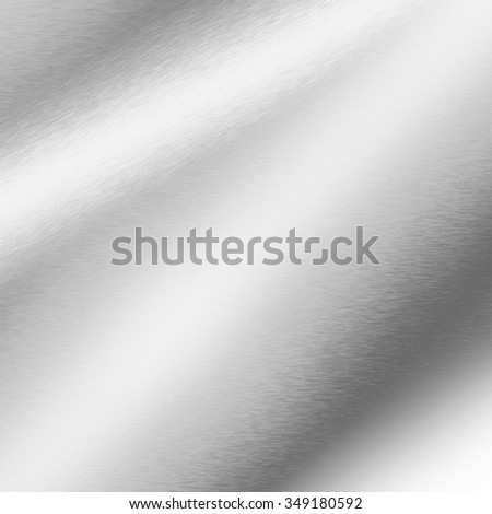 silver background abstract metal texture - stock photo