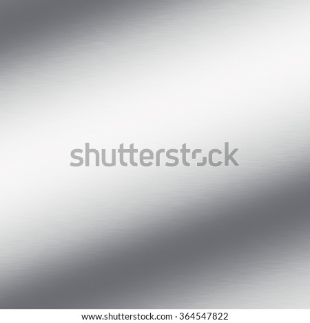 silver background texture chrome metal texture background with oblique line of light - stock photo