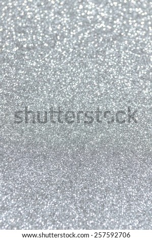 silver glitter christmas abstract background - stock photo