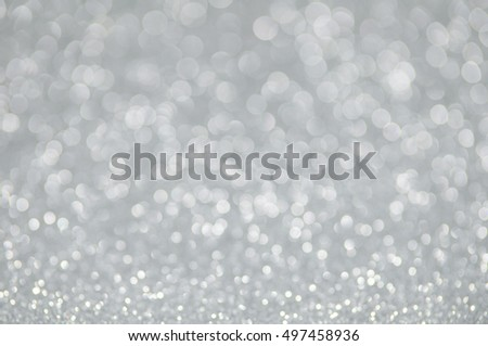 silver glitter christmas abstract background