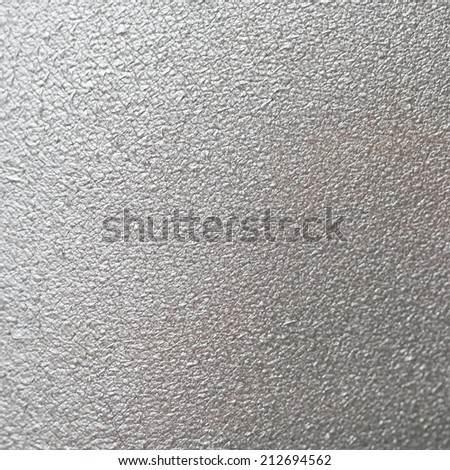 Silver leather background texture fa - stock photo