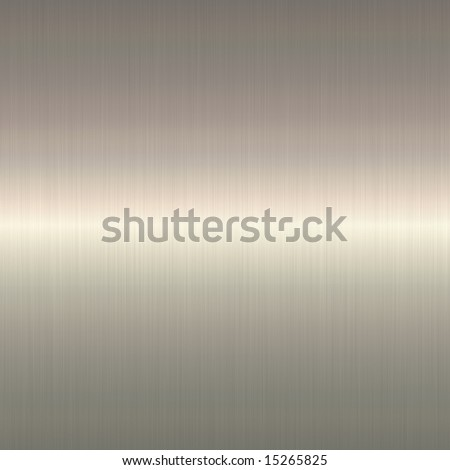 Silver metal background - stock photo