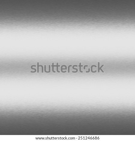 silver metal texture background with horizontal beams of light - stock photo