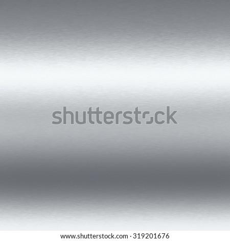 silver metal texture chrome background seamless pattern - stock photo