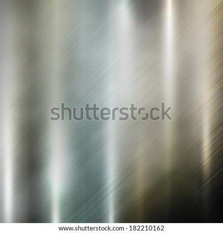 Silver metal texture. Steel background  - stock photo