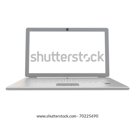 Silver notebook - stock photo