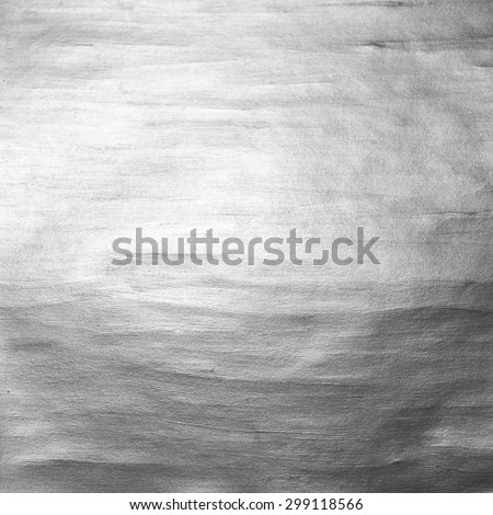 Silver  Shining Paint Stain Hand Drawn Illustration - stock photo