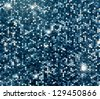 Silver sparkle glitter background. Glittering sequins wall. - stock photo