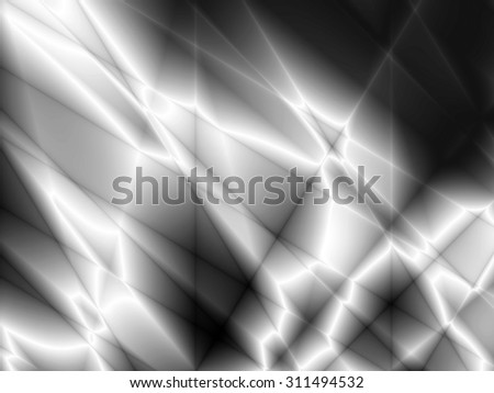 Silver wallpaper illustration abstract power technology design - stock photo