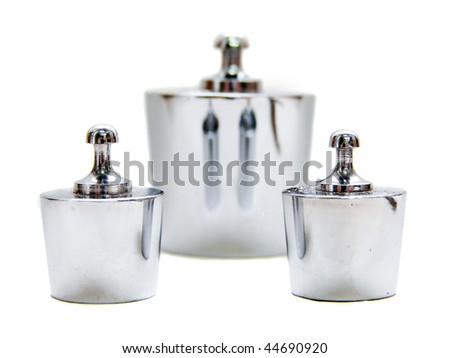 Silver Weight - stock photo