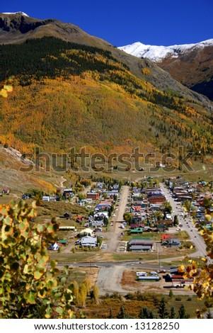 Silverton Colorado - stock photo
