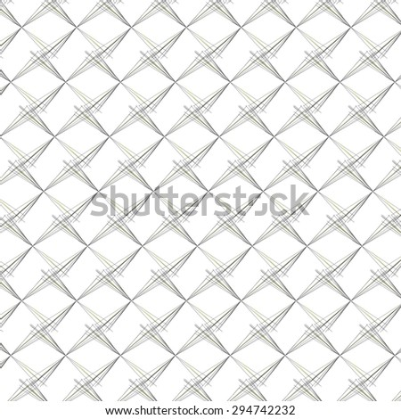 Simple background of abstract lines on a white background.
