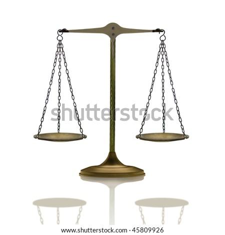 simple balance - stock photo