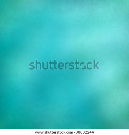 simple blue water abstract on paper - stock photo
