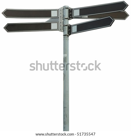 simple city pointer isolated - stock photo