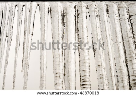 Simple icicles