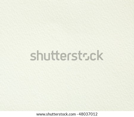 Simple White Handmade Paper Textured Background - stock photo