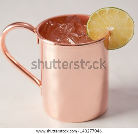 simply copper - stock photo