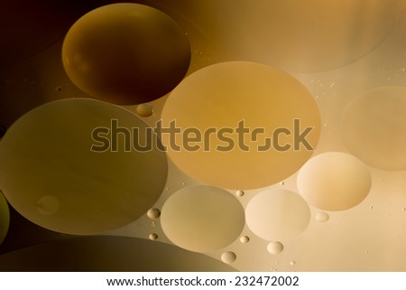 Simulation with drops of universe - stock photo