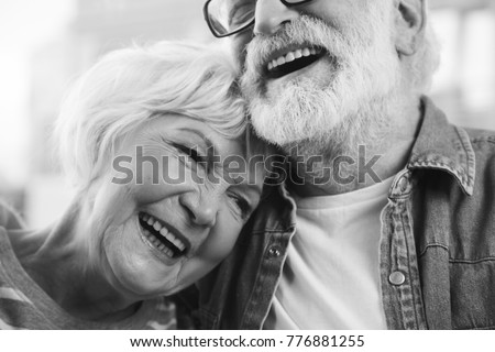 Mature white woman black man