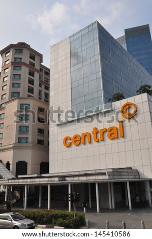 SINGAPORE - AUGUST 16: The Central in Singapore as seen on August 16, 2012. It is a commercial and residential building located on Eu Tong Sen Street, opposite Clarke Quay along the Singapore River.