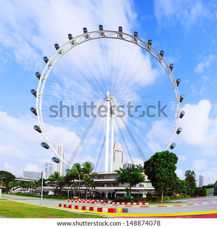 Singapore Flyer  - the Largest Ferris Wheel in the World