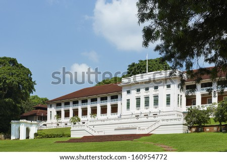 Singapore, Fort Canning - stock photo